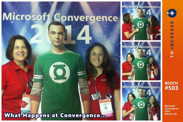 Microsoft Dynamics Convergence tradeshow marketing idea that drives leads and customer engagement.